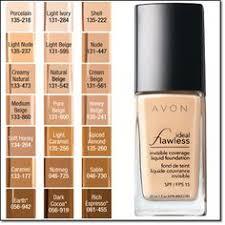 Avon Foundation Colour Chart 19 Best Avon Foundation Images Avon Foundation Makeup
