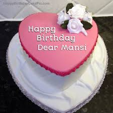 Birthday Cake For Dear Mansi