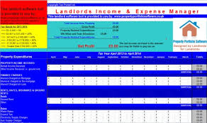 free finance spreadsheet free rental income and expense tracking spreadsheet download page