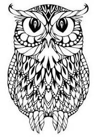 Small Picture 338 best Owl Coloring Pages images on Pinterest Owls Adult