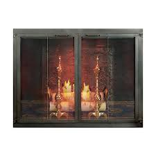 Brilliant Modern Fireplace Doors Voqalmedia Regarding Modern Fireplace Doors