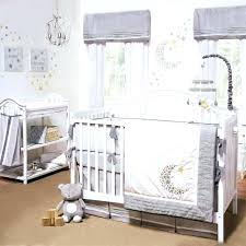 cradle bedding sets infant bedding set gray white celestial moon w stars baby uni nursery 4 cradle bedding sets