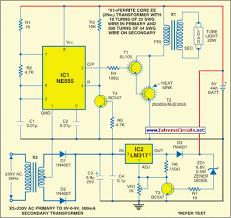 fully automatic emergency light eeweb community fully automatic emergency light circuit diagram