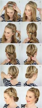 Different Bun Hairstyles Bun Hairstyle With Detailed Steps And Pictures Within 5 Steps