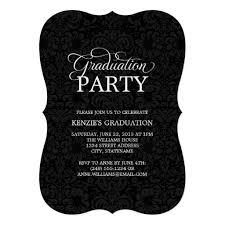 Graduation Party Announcement Graduation Party Invitation Classy Grad Invitation Card