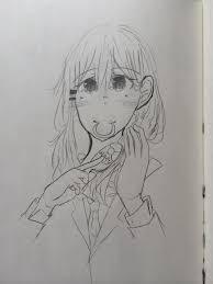 朝の準備 ちゃお イラストコンテスト かわいい女の子の絵を描いて