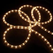 Clear White Rope Lights Northlight 18 Ft Constant White Christmas Rope Lights In