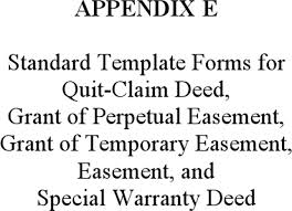 Quit Claim Deed Form Efficient For Document Free Standard Template ...