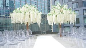 chicago wedding decoration tent