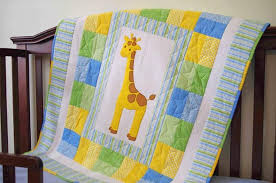 Make Baby Quilts: Resources, Kits, Classes and More | Craftsy & Giraffe Baby Quilt Adamdwight.com