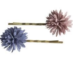 """<b>Невидимки</b> """"<b>Chiffon</b> Flowers"""", 2 шт., синяя и коричневая купить в ..."""