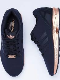 adidas shoes for girls black and gold. shoes low top sneakers adidas black rose gold flux originals pretty zx metallic cute for girls and e