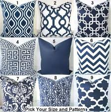 large throw pillows for couch. Fine Large Pillows Navy Blue Decorative Throw Dark Chevron Pillow  Covers ALL SIZES 16x16 18 20 Euro Shams To Large For Couch A