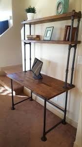plumbing pipe desk diy galvanized pipe desk google search nice designs pipe desk galvanized pipe and pipes plumbing pipe standing desk