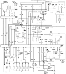 Diagram wiring for ford ranger radio and standared at 2001