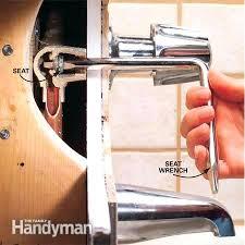 shower valve seat leaking bathtub faucet