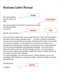 Sample Business Letter Salutation 5 Examples In Word Pdf