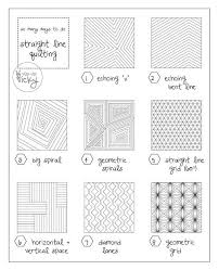 712 best Quilting Patterns Free Motion and Straight Line images on ... & straight line quilting patterns Adamdwight.com
