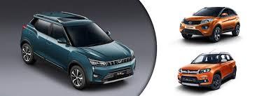 Suv Safety Comparison Chart Mahindra Xuv300 Vs Tata Nexon Vs Maruti Suzuki Vitara Brezza
