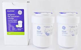 Ge Refrigerator Filter Replacement Cartridge Ge Mwf Refrigerator Water Filter Pack Of 2 Amazoncouk Kitchen