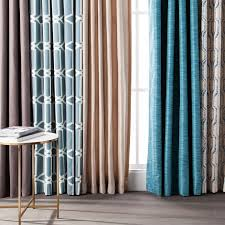 room darkening curtains