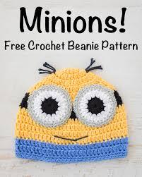 Minion Hat Crochet Pattern Awesome Crochet Minions Beanie Free Pattern Loganberry Handmade