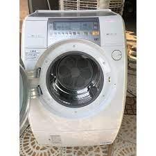 Máy giặt nước nóng, sấy Block cửa đứng National NA-VR2200R Nhật nội địa.  MỚI 98%. GIẶT 9KG + SẤY 6KG. BẢO HÀNH 1 NĂM