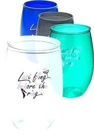 plastic wine glasses costco plastic stemless wine glasses goblets bulk giant plastic wine glass costco