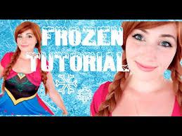 kittiesmama disney 39 s frozen princess anna makeup costume tutorial