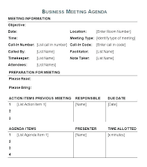 Meeting Agenda Template Stunning Documentation Example Awesome ...