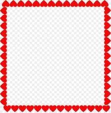 heart picture frames valentine s day clip art heart frame
