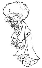 Zombie Coloring Pages Best Plants Vs Zombies Color Images On 2