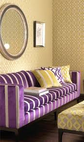 Yellow U0026 Purple Living Room ...