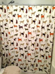 dog shower curtain shower curtain brilliant design dog shower curtain vibrant idea best pet themed images on bathroom sausage dog shower curtain