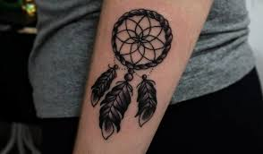 Dream Catcher Tattoo Stencils 100 Dreamcatcher Tattoo Designs For Good Dreams TattooBloq 79
