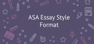 explicit asa style essay guidelines asa essay style format asa style paper
