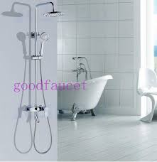 Delta Foundations SingleHandle 1Spray Tub And Shower Faucet In Bath Shower Combo Faucet
