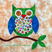 Quilt Inspiration: Free Pattern Day: Owls ! | Quilts - Birds ... & Quilt Inspiration: Free Pattern Day: Owls ! Adamdwight.com