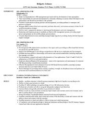 hr administrator resume samples hr administrator resume samples velvet jobs