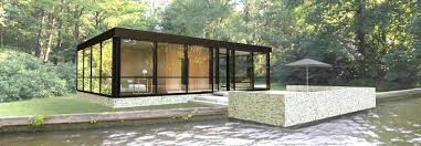 prefab glass house lets you bring home the spirit of philip johnson s masterpiece