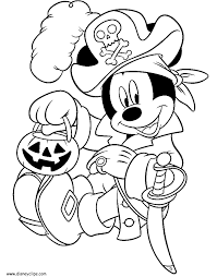 Small Picture Donald Duck Mickey Mouse Halloween Coloring Pages Coloring
