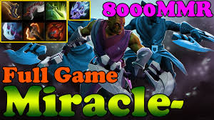dota 2 6 85 miracle 8000mmr plays anti mage full game