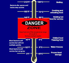Food Safety Time And Temperature Chart Preventing Foodborne Illness Food Safety Sanitation And