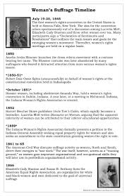 suffrage timeline w s suffrage timeline 19 20