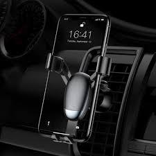ᐉ Автомобильный <b>держатель BASEUS Mini Gravity</b> Car Air - Black ...
