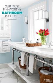Better Homes And Gardens Bathrooms Amazing DIY Bathroom Projects