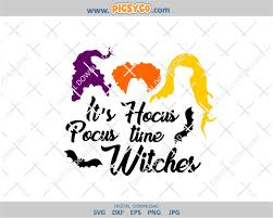 Shop the top 25 most popular 1 at the best prices! It S Hocus Pocus Time Witches Svg Sanderson Sisters Witches Svg Hocus Pocus Svg Halloween Svg Design Halloween Files Halloween Cut Files Svg Png Picsyco
