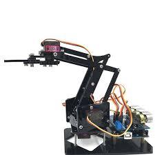 <b>DIY 4DOF Robot Arm</b> 4 Axis Rotating Mechanical <b>Robot Arm</b> For ...
