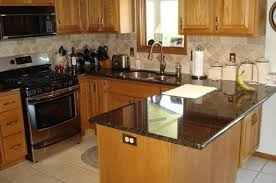 image of black kitchen countertops ideas