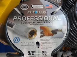 flexon garden hose. Flexon 80 Feet Professional Commercial Grade Hose Costco 3 Garden